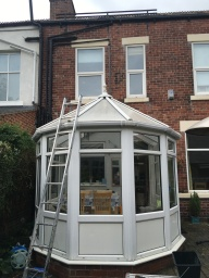 Conservatory cleaning in Sheffield and gutter cleaning in. Sheffield